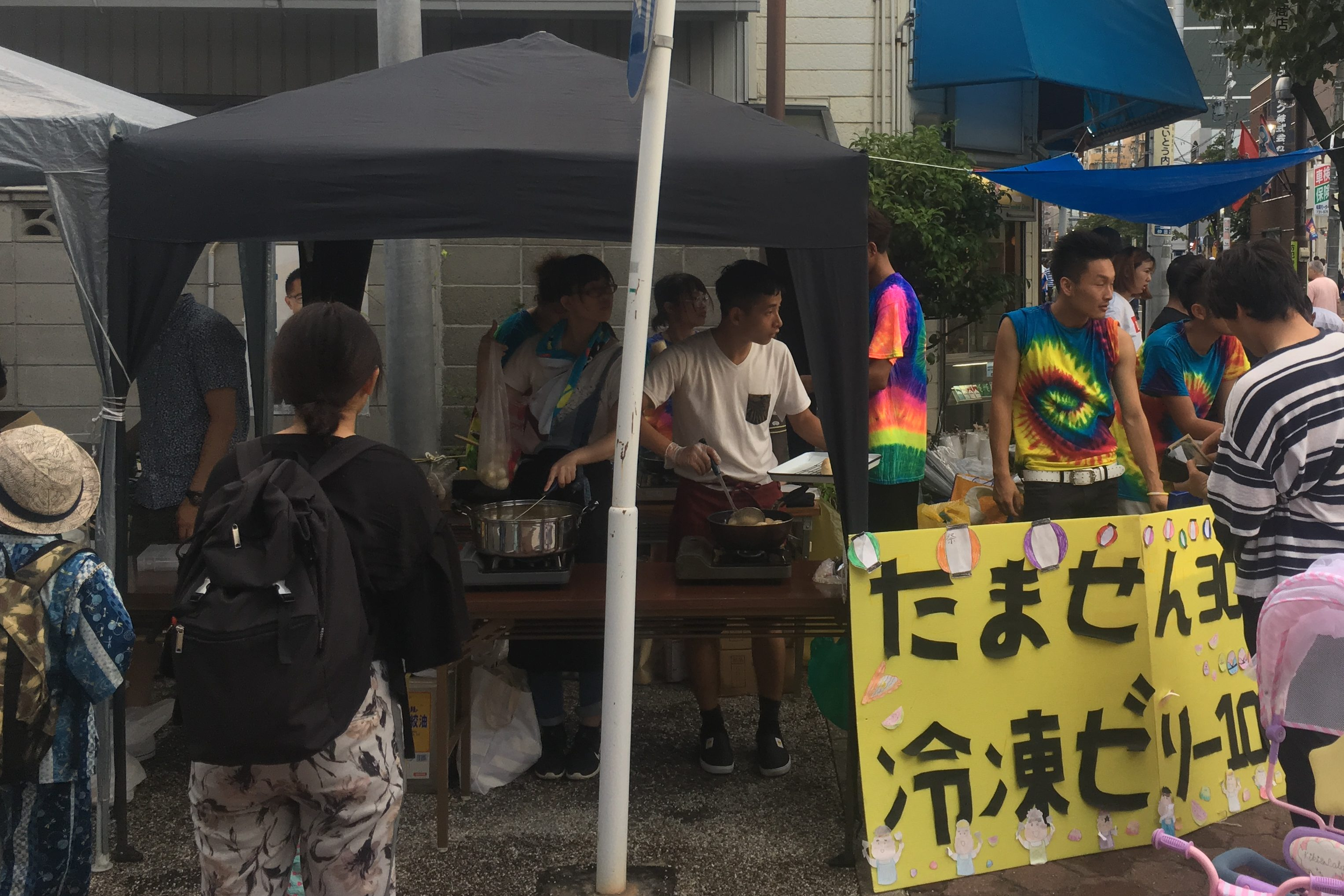 Read more about the article 仲田夏祭り出店課題2019スタート